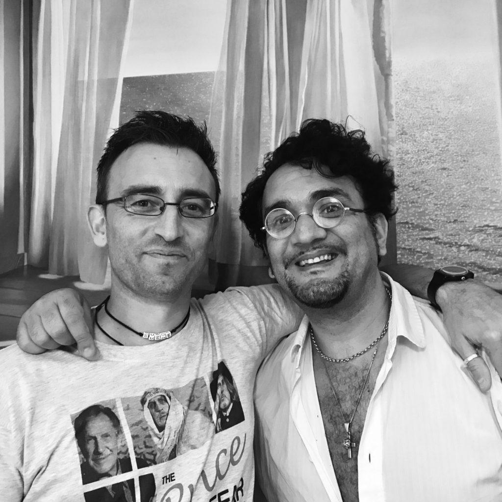 Ricky Cavrioli and Tim Arnold, 2017